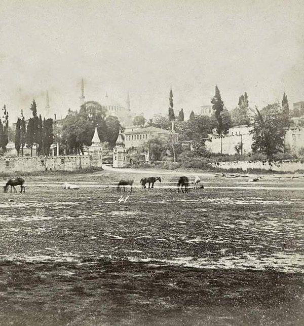 Sultanahmet (1800'lu yılların sonu) #istanbul #istanlook #birzamanlar #nostalji