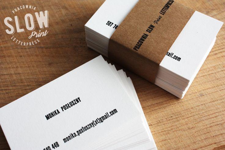 business card | letterpress | Gmund Cotton