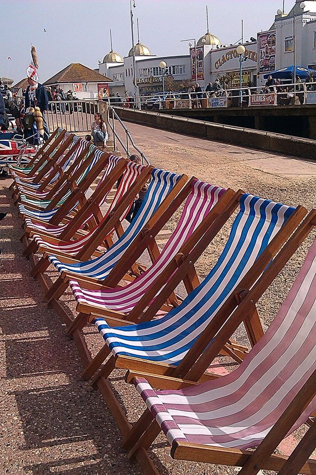 Clacton-on-Sea, just up the road from us.