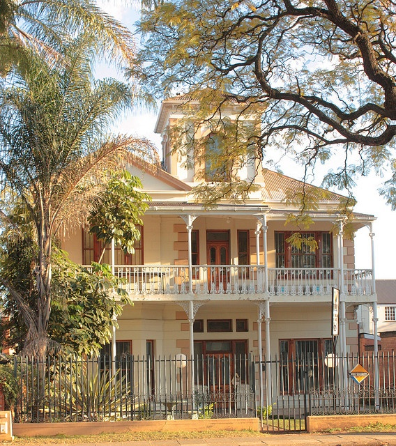 151 Pietermaritz Street, Pietermaritzburg.  By Kleinz1    This house is declared a National Monument (now known as Heritage sites). http://www.n3gateway.com/the-n3-gateway-route/pietermaritzburg-tourism.htm