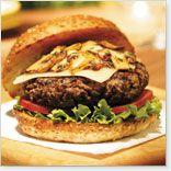 Hamburger aux champignons et au fromage suisse