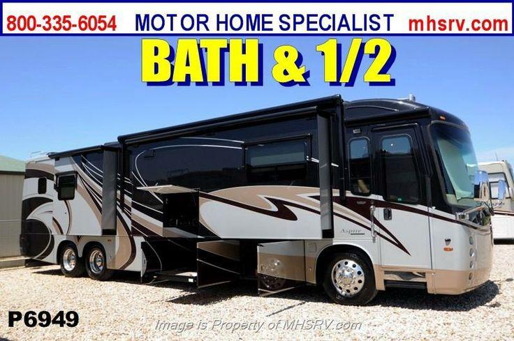 #6949 - 2013 Entegra Coach Aspire Bath & 1/2 W/4 Slides Tag Axle RV for Sale for sale in Alvarado TX