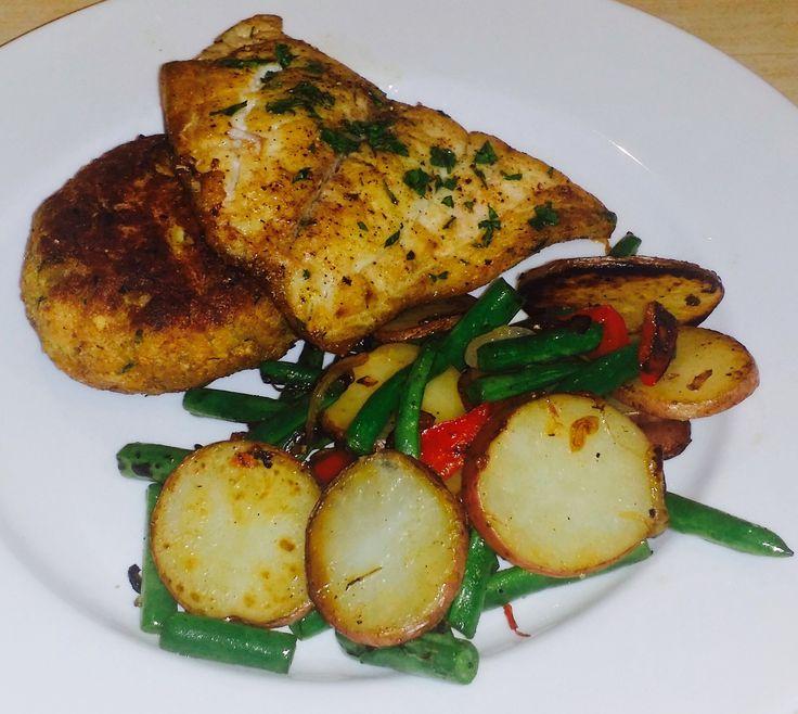 Pan fried yellowtail snapper sanibel ray sanibel ray for Pan fish recipe
