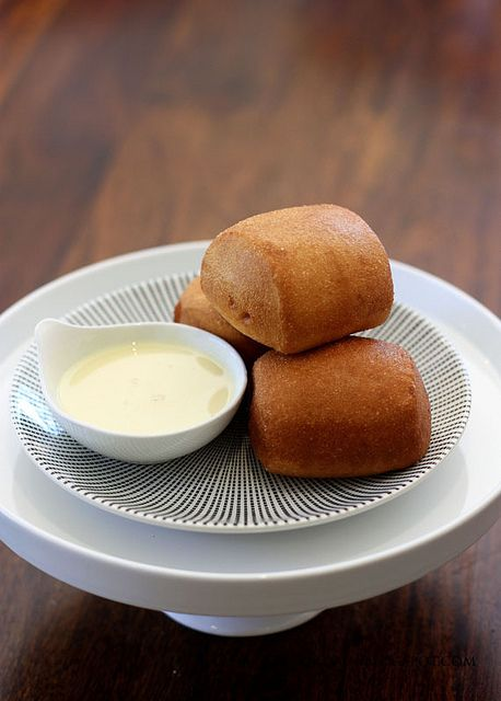 Mantou with homemade sweeetened condense milk. Perhaps something for the weekend.