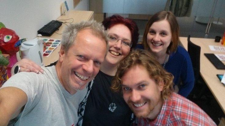 #Selfie #Schlussredaktion #Kurier #Team http://kurier.at