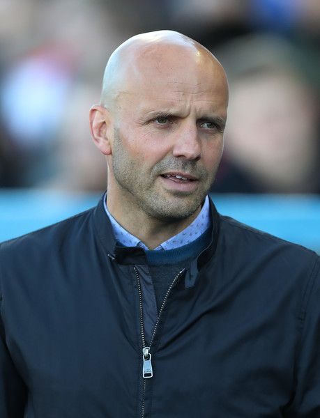Paul Tisdale Photos Photos - Exeter City manager Paul Tisdale is seen during the Sky Bet League Two match between Carlise United and Exeter City at Brunton Park on May 14, 2017 in Carlisle, England. - Carlisle United v Exeter City - Sky Bet League Two Play off Semi Final: First Leg