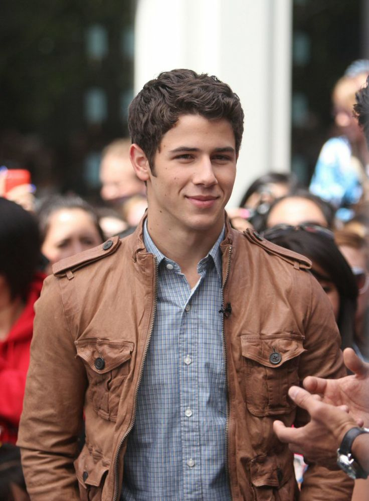 Nick Jonas...never was too much of a fan until I was diagnosed with Type 1 Diabetes.