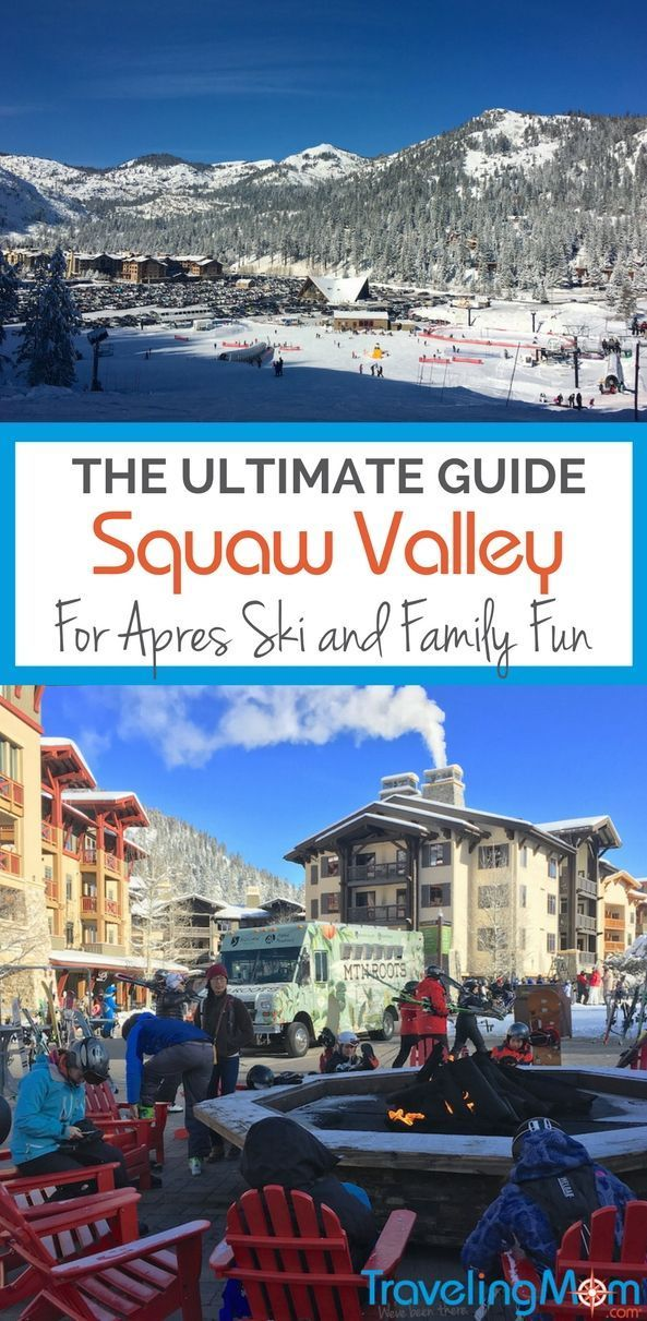 Squaw Valley Ski Resort in California offers world-class skiing. A day full of activities for the kids in The Village means there's plenty of fun for the non-skiers on a family ski vacation too.