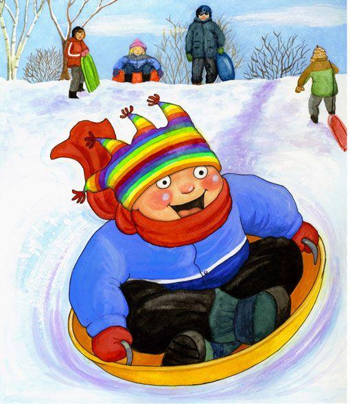 """Recull de recursos per a l'hivern.   Bloc """"Els petits infants"""""""