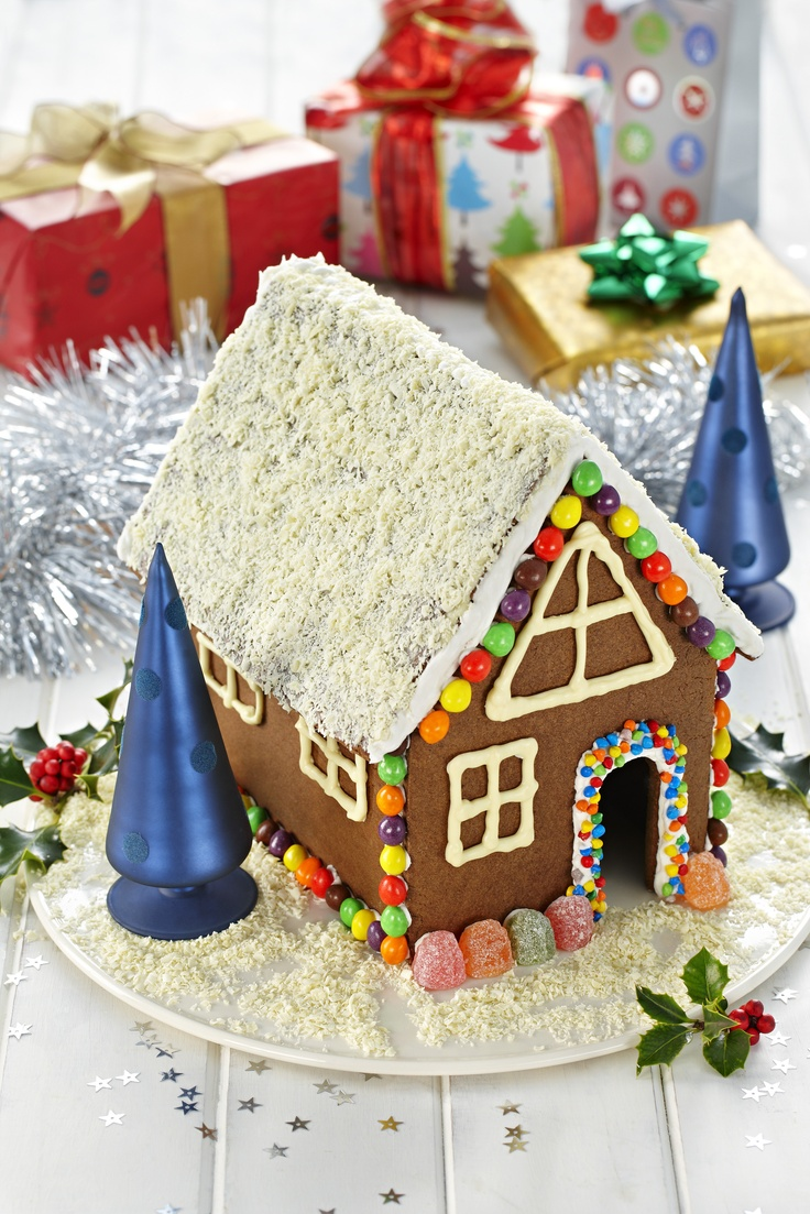 Chocolate gingerbread house chocolate gingerbread is the perfect biscuit to use to make a delightful centrepiece for your christmas table