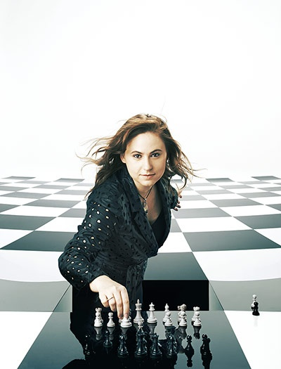 Observer Photography:  Judit Polgar.  Greatest chess player ever, in my opinion...and to be fair, a lot of other people's, too!