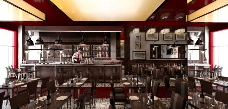 Modern restaurant design concepts pixshark