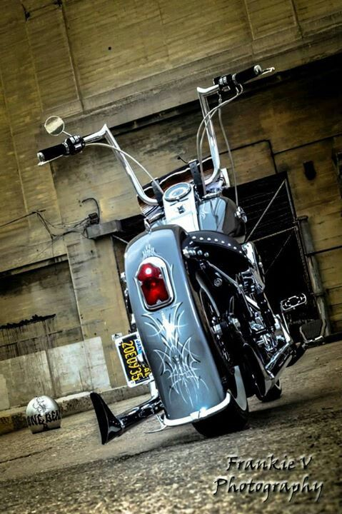 Softail Deluxe with apes