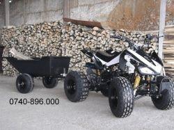 Remorca ATV de la Bemiro Mania, pentru ca tu sa desfasori cu usurinta activitatile din gospodarie!