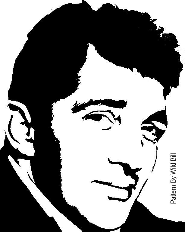 dean martin stencil - photo #5