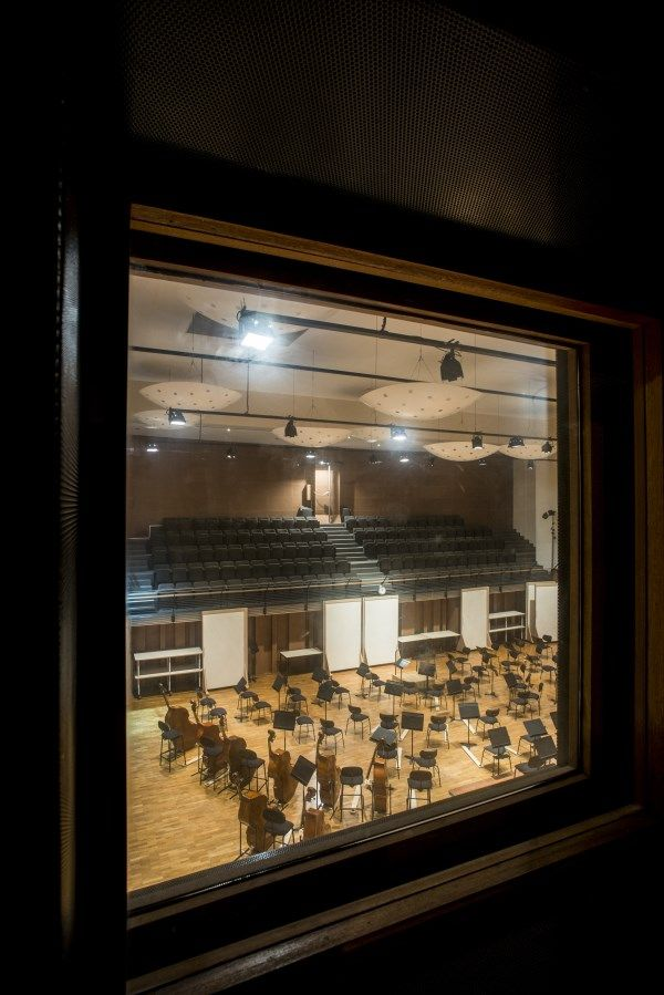 Salle de répétition de l'Orchestre national d'Île-de-France - Photo Éric Garault