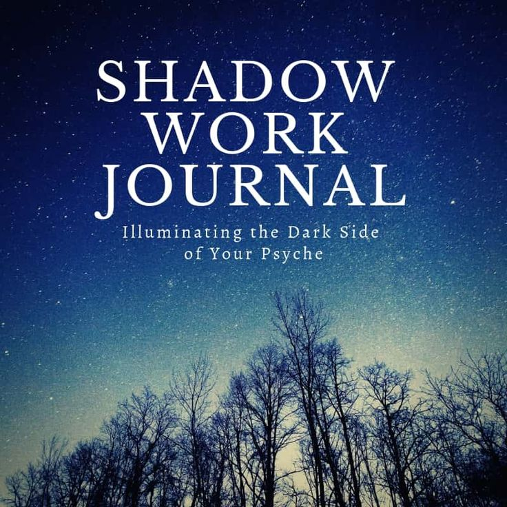 Shadow Work Journal Work journal, Picture writing