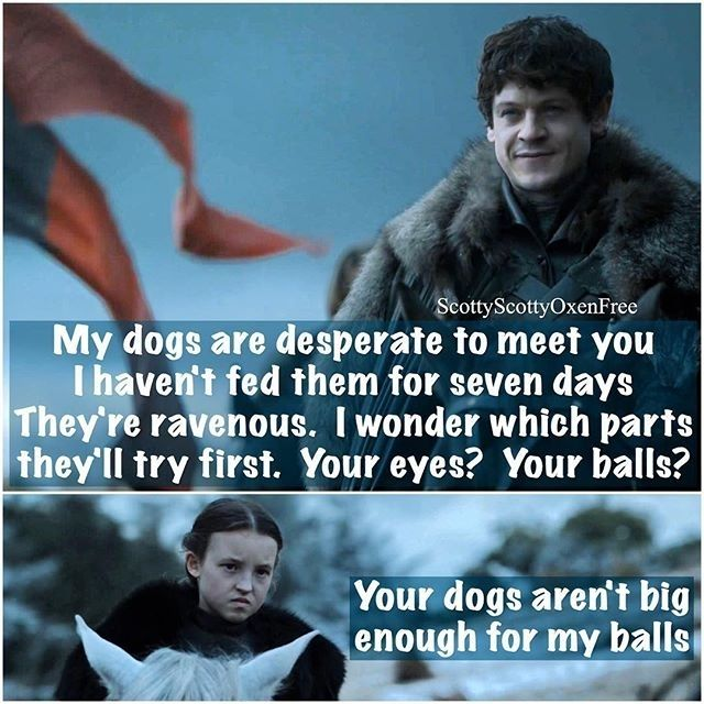 Lyanna Mormont will have none of it