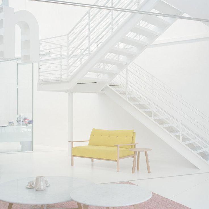 Jardan // Sydney showroom: Stairs, Pastel Yellow, Furniture Branding, Ward Robert, Branding Jardan, Magazines, Trendland Fashion Blog, Sydney Showroom, Jardan Sydney