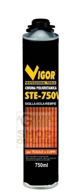 VIGOR SCHIUMA POLIURETANICA STE-750 TEGOLE VITE ML. 750 https://www.chiaradecaria.it/it/collanti/21370-vigor-schiuma-poliuretanica-ste-750-tegole-vite-ml-750-8011779341890.html