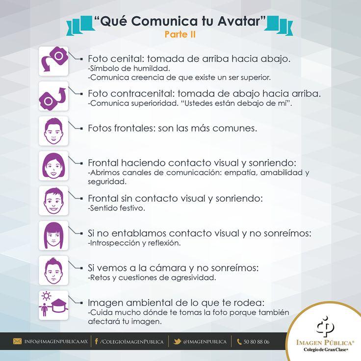 Te compartimos algunos #Imagotips de Alvaro Gordoa acerca de qué comunica tu Avatar.