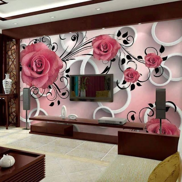 Amazing Patterns Wallpapers Design For Living Room Canada Part 67