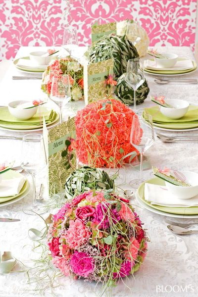 Hochzeit mit Nelken