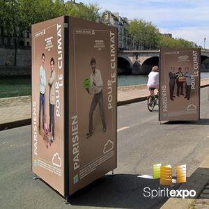 SPIRIT EXPO - TRIO ISI Totem lesté