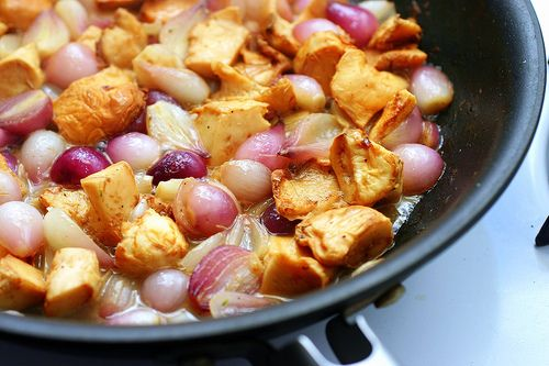 chicken with chanterelles and pearl onions – smitten kitchen