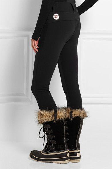 Perfect Moment | Aurora Skinny stretch-twill ski pants | Size M