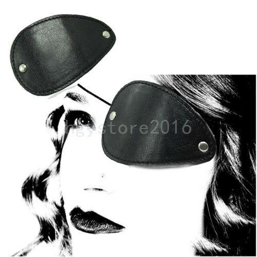 Adult Black Pirate Eye Patch Halloween Costume Party Cosplay Fancy Dress