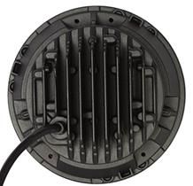 """""""JEEP 3"""" Driving Light LED 40W 7`` 178MM  Operating Voltage: 10-30V DC  Waterproof rating: IP 67  High intensity Cree LEDs  High & Low Beam  Luminous Flux 4250lm  Color Temperature: 6000K  Material: Die cast aluminum housing  Lens material: PC  Expected Life 30000+ hours  Certificates: CE RoHs"""