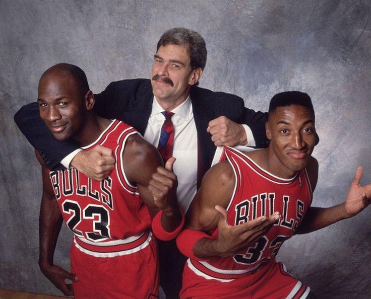 Running of the Bulls - M. Jeff, Phol Jackson & Pippen