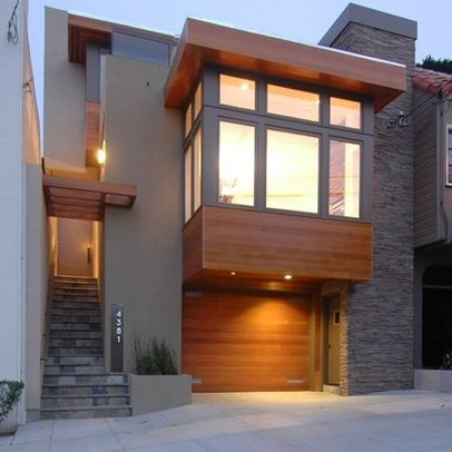 Nice cantilevered bay window exterior home designs for Modern house exterior remodel