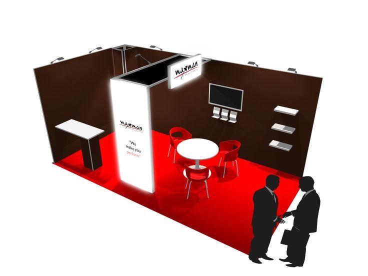 Maxman consultants stand design
