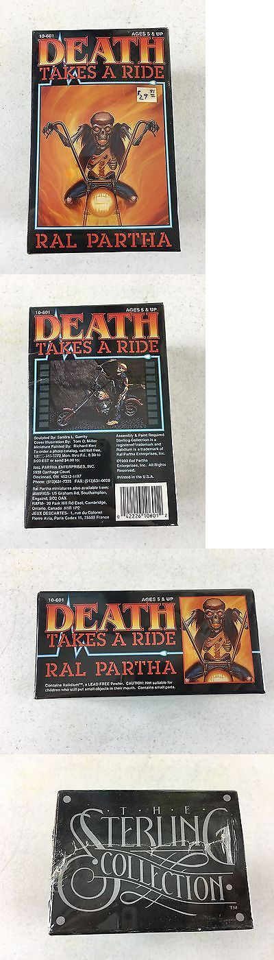 Ral Partha 16489: 1993 Death Takes A Ride 10-601 Sterling Collection Ral Partha Sealed Nos, Estate -> BUY IT NOW ONLY: $99.99 on eBay!