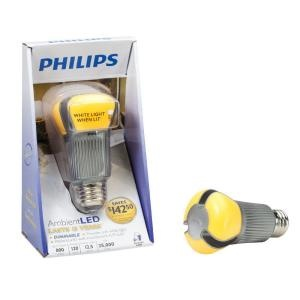 NEW: Philips AmbientLED (TM) Dimmable 60W Replacement A19 LED Light Bulb - Soft Warm White (Energy Star (R) Qualified) 423343 $29.95