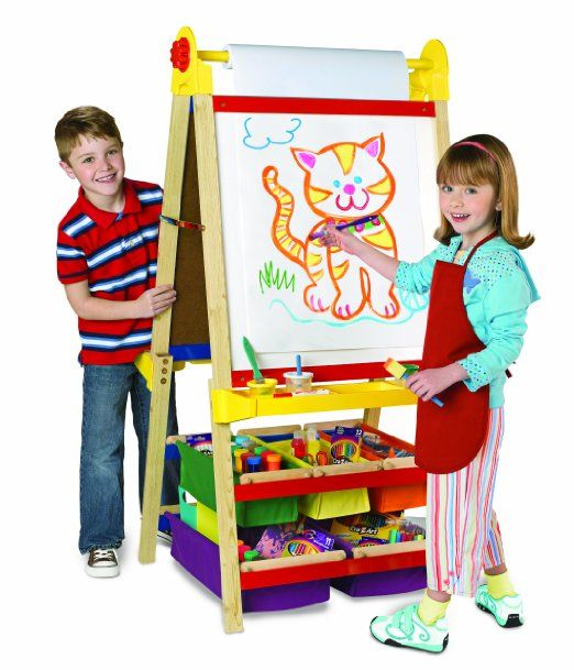 Amazon.com: Large Deluxe Easel 14000: Toys & Games