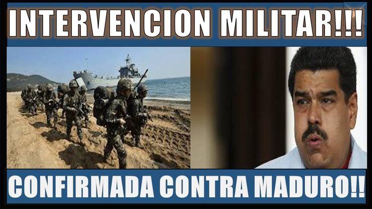 ULTIMAS NOTICIAS VENEZUELA 9 MARZO 2018||INTERVENCIÓN MILITAR CONFIRMADA CONTRA MADURO!!!