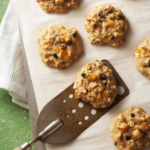 Fruited Oatmeal Cookies