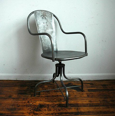//: Chair Industrial Modern, Chairs Stools Lounging Seating, Furniture, Industrial Design, Desk Chairs
