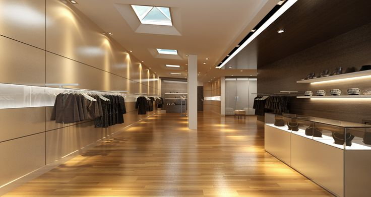 Enhance retail spaces and the shopping experience.