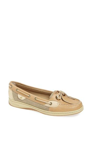 Sperry Top-Sider® 'Angelfish' Boat Shoe available at #Nordstrom. I like these ones and the blue stripe ones