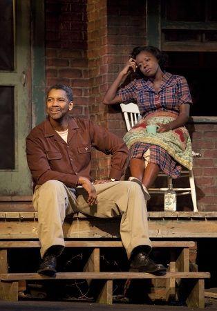 "Denzel Washington and Viola Davis were wonderful in the Broadway revival of August Wilson's ""Fences."""