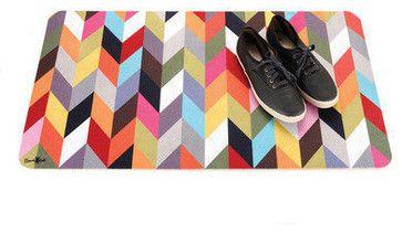 Multi-Use Floor Mat, Ziggy - modern - doormats - obaz
