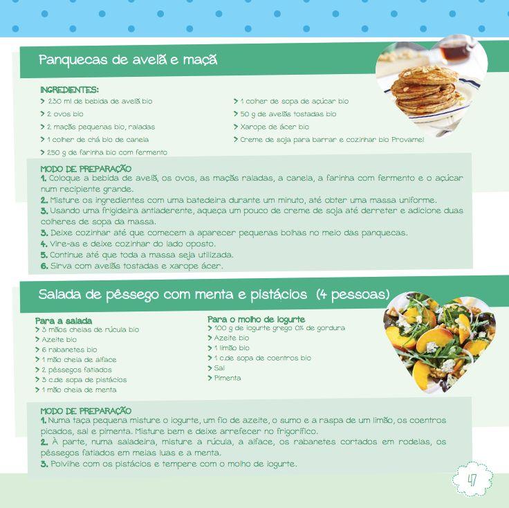Alimentação saudável e recuperação pos parto - o celeiro - receita
