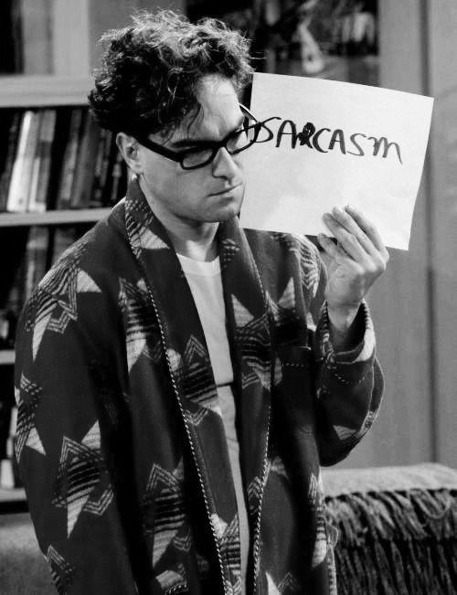 Para que lo entienda Sheldon ..jajaja !!!