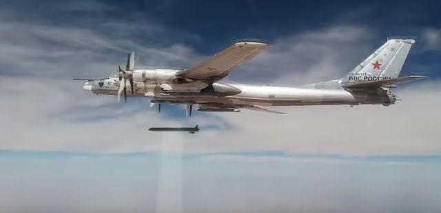 Noticia Final: Bombardeiros russos Tu-95MS atacam posições dos te...