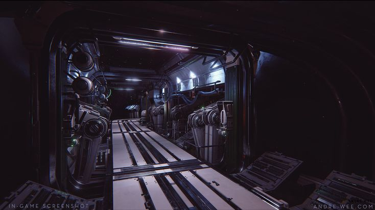 ArtStation - Space Station Interior for Barbarella Music Festival '15, André Wee
