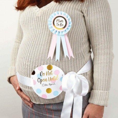 Bauchband für Schwangere DO NOT OPEN.... - 10,95 €